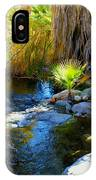 Canyon Creek Baby Palm IPhone Case