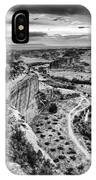 Canyon De Chelly Navajo Nation Chinle Arizona Black And White IPhone Case