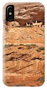 Canyon Dechelly Pueblo Ruins IPhone Case