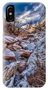 Canyon Stream Winterized IPhone Case