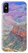 Canyon View From Walhalla Overlook On North Rim Of Grand Canyon-arizona  IPhone Case