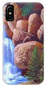 Canyon Waterfall IPhone Case
