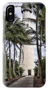 Cape Florida Historic Lighthouse IPhone Case