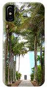 Cape Florida Walkway IPhone Case