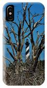 Cape Hatteras Lighthouse Through The Trees 3/01 IPhone Case