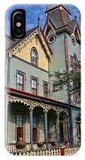 Cape May Victorian IPhone Case