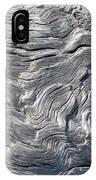 Cape Meares Driftwood Grain 001 IPhone Case