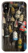 Cape Neddick Lobster Buoys IPhone Case
