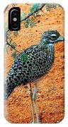 Cape Thick-knee IPhone Case