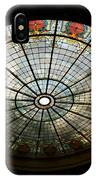 Capital Building Stained Glass 2 IPhone Case