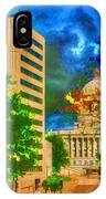 Capital - Jefferson City Missouri - Painting IPhone Case