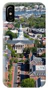 Capital Of Maryland In Annapolis IPhone Case