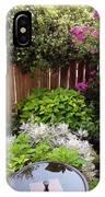 Capitol Hill Patio Garden IPhone Case