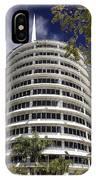 Capitol Records Building 2 IPhone Case