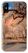Capitol Reef Scenic Drive IPhone Case