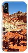 Capitol Reef Twin Towers IPhone Case