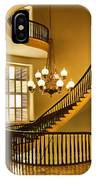 2 - Capitol Staircase - Montgomery Alabama IPhone Case