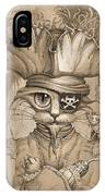 Captain Claw IPhone Case