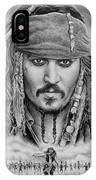 Captain Jack Sparrow IPhone Case