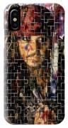 Captain Jack Sparrow Digital Painting IPhone Case