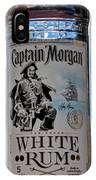 Captain Morgan White Rum IPhone Case