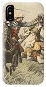 Capture Of Samory By Lieutenant IPhone Case