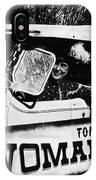 Car And Driver In Helldorado Days Parade In Tombstone Arizona 1967 IPhone Case