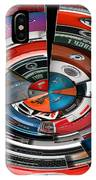 Car Badges Collage Polar View IPhone Case