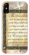 Caramel Scripture IPhone Case