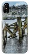 Cardiff Bay Old Jetty Supports IPhone Case