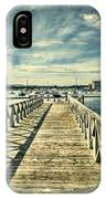Cardiff Bay Wetlands 2 IPhone Case
