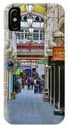 Cardiff Wyndham Arcade 8275 IPhone Case