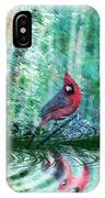 Cardinal - Featured In Comfortable Art-wildlife-and Nature Wildlife Groups IPhone Case