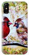 Cardinals Chat IPhone Case