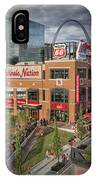 Cardinals Nation Ballpark Village Dsc06176 IPhone Case