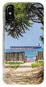 Cargo Ship On Chesapeake Bay IPhone Case