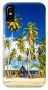Caribbean Beach Shack IPhone Case