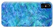 Caribbean Blue Abstract IPhone Case