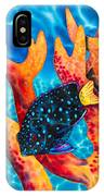 Caribbean Damselfish IPhone Case
