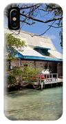 Caribbean House And Boat IPhone Case