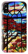 Caribbean Stained Glass  IPhone Case