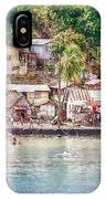 Caribbean Village IPhone Case