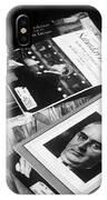Carl Sandburg's Magazines  IPhone Case