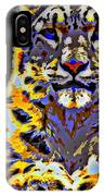 Carlos The Snow Leopard IPhone Case