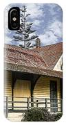 Carlsbad Railroad Depot IPhone Case