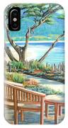 Carmel Lagoon View IPhone Case