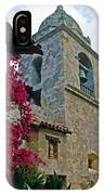 Carmel Mission Tower IPhone Case