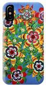Carnival Flowers IPhone Case
