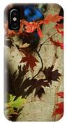 Carolina Autumn IPhone Case