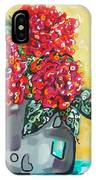 Carolyn's Roses IPhone X Case
